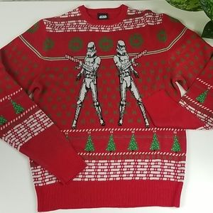 """Star Wars Storm Trooper """"Ugly"""" Christmas Sweater"""